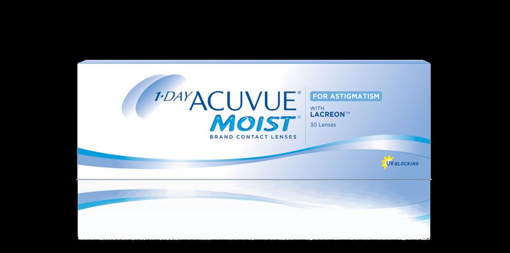 2dc398024b086 Lentes de contacto 1-DAY ACUVUE® MOIST para Astigmatismo