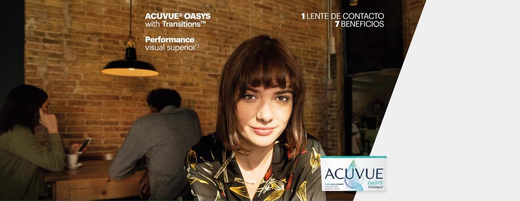 ACUVUE® OASYS with Transitions™